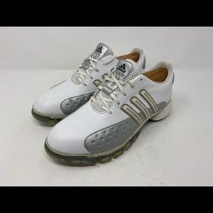 Adidas power band chassis women's golf cleats sz 8